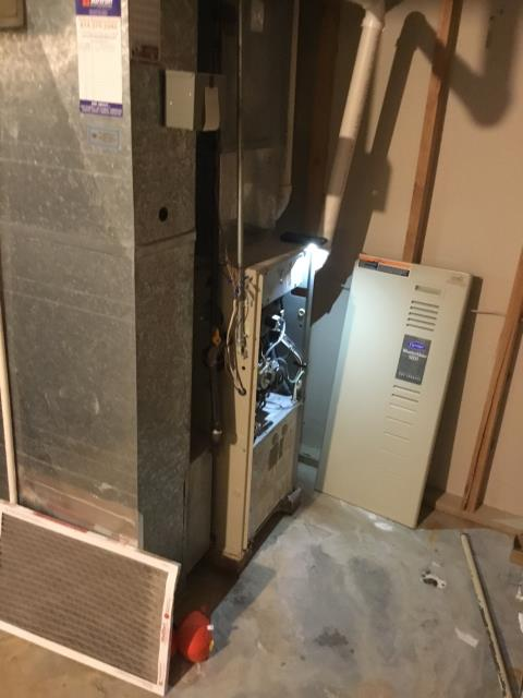 New Albany, OH - Diagnostic Performed Recommended Unblocking Main Cold Return On Carrier Gas Furnace To Keep Furnace Running At Highest Performance For The Winter Season