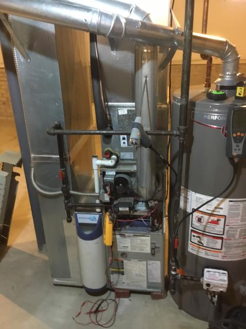 Pataskala, OH - Performed Our Special Tune-Up & Safety Checkout On Bryant  Gas Furnace To Keep Furnace Running Efficiently For The Winter Season