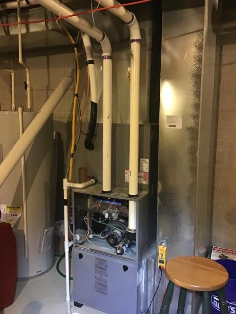 Johnstown, OH - Diagnostic Performed Replaced Gas Valve On Comfortmaker Gas Furnace To Keep Furnace Running At Highest Performance For The Winter Season