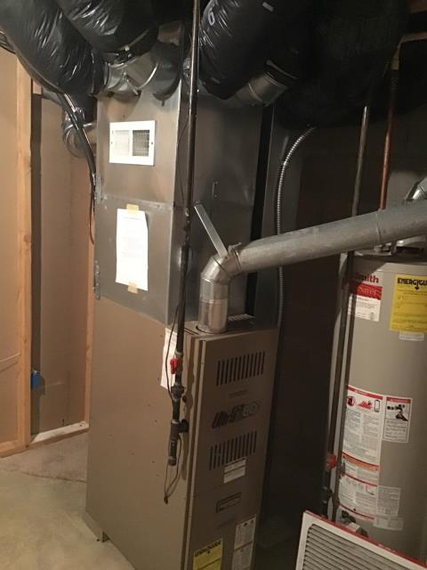 Columbus, OH - Performed Our Special Tune-Up & Safety Checkout On Armstrong  Gas Furnace To Keep Furnace Running Efficiently For The Winter Season