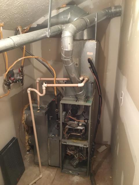 Columbus, OH - Diagnostic Performed Adjusted Thermostat To Improve Air Flow In Temperature On  Trane Gas Furnace To Keep Furnace Running At Highest Performance For The Winter Season