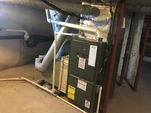 Canal Winchester, OH - Performed Our Special Tune-Up & Safety Checkout On Goodman Gas Furnace To Keep Furnace Running Efficiently For The Winter Season