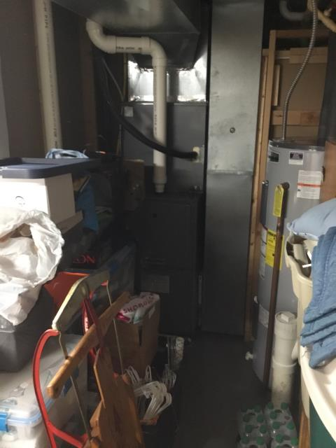 Pataskala, OH - Performed Our Special Tune-Up & Safety Checkout On Carrier Gas Furnace To Keep Furnace Running Efficiently For The Winter Season