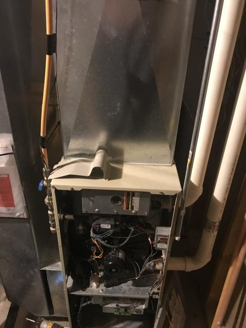 Blacklick, OH - 	Performed Our Special Tune-Up & Safety Checkout On Carrier Electric Furnace To Keep Furnace Running Efficiently For The Winter Season