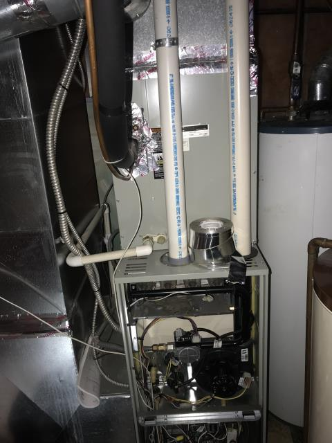 Canal Winchester, OH - Seasonal maintenance on Trane furnace. All checks are good, the furnace is ready for winter.