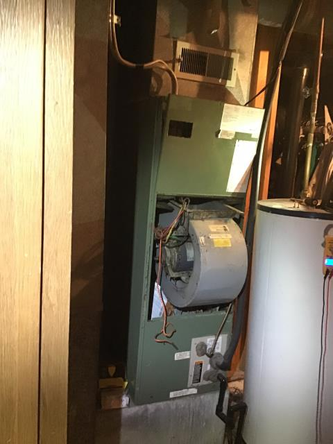 Reynoldsburg, OH - Blower motor failure on Lennox furnace. Provided customer quote to replace.