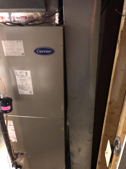 Columbus, OH - Performed tuneup and safety inspection on Carrier electric furnace. All is working well at this time and us ready to heat this winter.