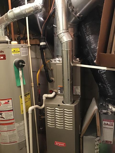 Westerville, OH - Performed tuneup on Bryant furnace. Pulled and cleaned flame sensor. All is working properly and is ready to heat this winter season.