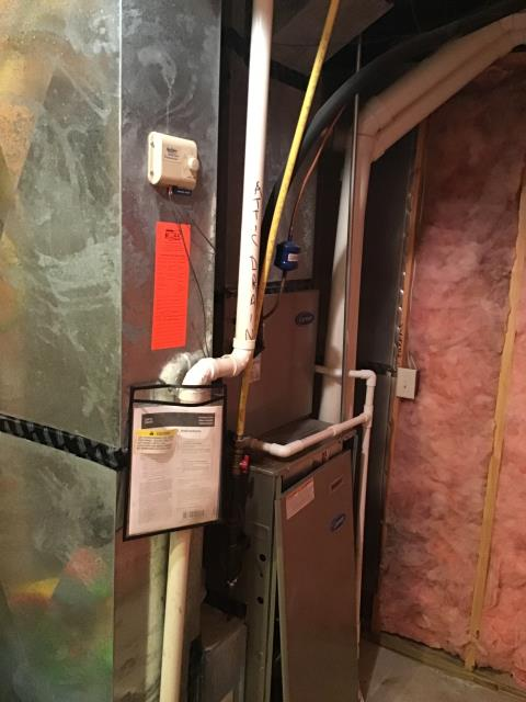 Powell, OH - I Replaced the Direct Drive Blower Motor with capacitor on a Carrier unit.