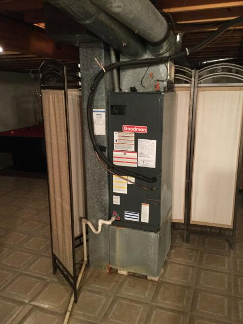 Columbus, OH - I Replaced the OEM Reversing Valve Including Pump  Recovery, Bi-Flo Drier, Vacuum Pressure Test, as well as added 6 pounds of Refrigerant R-410A Puron for a Goodman .