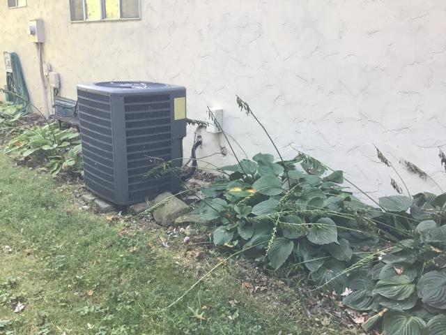 Reynoldsburg, OH - Wearing mask and gloves and keep activity in the home to a minimum, I Performed A/C tune-up on a 2007 Goodman Heat pump.
