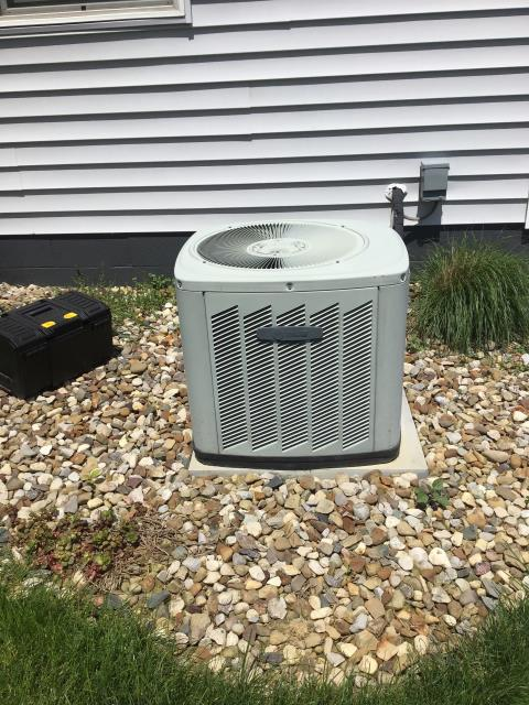 Pickerington, OH - Performed tuneup and safety check on Trane AC. All is in good working order.