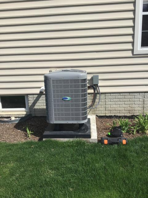 Westerville, OH - Installed iWave air purification system and tuned up Carrier AC. Everything is operational and running well.