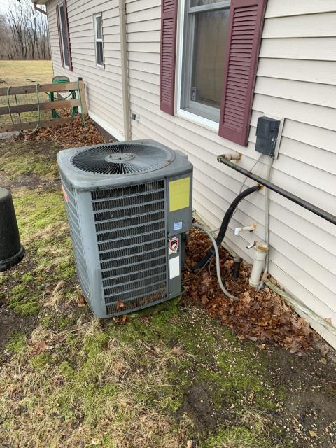 Pickerington, OH - Wearing mask and gloves and keep activity in the home to a minimum, I Performed a Air Conditioner tune-up on a 2009 Goodman unit . System is now running a peak performance