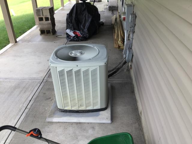 Canal Winchester, OH - Wearing mask and gloves and keep activity in the home to a minimum, I Performed a Air Conditioner tune-up on a 2005 Trane unit . System is now running a peak performance