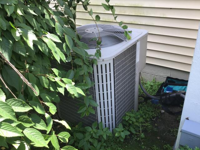 Pickerington, OH - Wearing mask and gloves and keep activity in the home to a minimum, I Performed a Air Conditioner tune-up on a 2006 Bryant unit . System is now running a peak performance