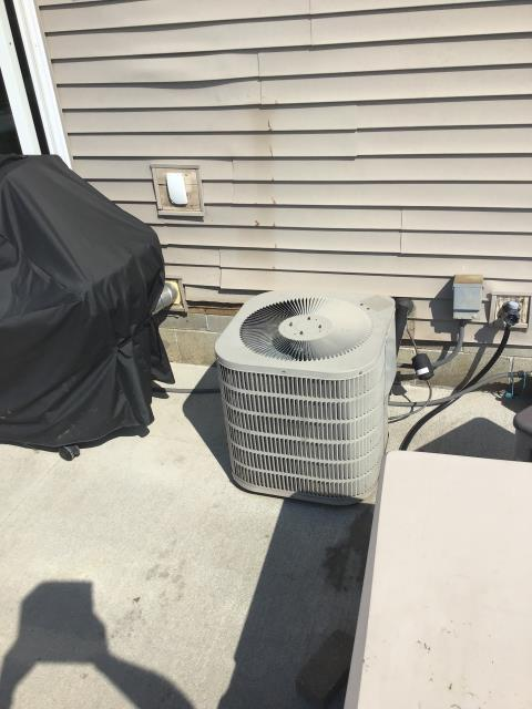 Groveport, OH - Wearing mask and gloves and keep activity in the home to a minimum, I Performed a Air Conditioner tune-up on a 2006 York unit . System is now running a peak performance