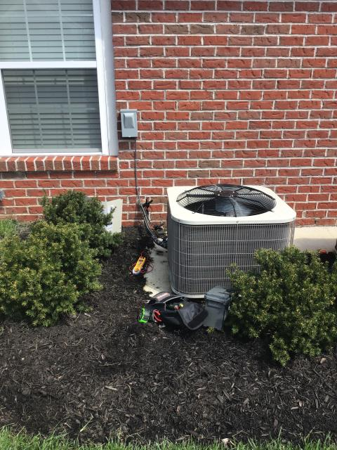 Reynoldsburg, OH - Wearing mask and gloves and keep activity in the home to a minimum, I Performed a Air Conditioner tune-up on a 2018 Bryant unit . System is now running a peak performance