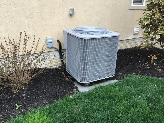 Blacklick, OH - Tuneup and safety check on 2003 Bryant  Air Conditioner. The system is cooling properly at this time.