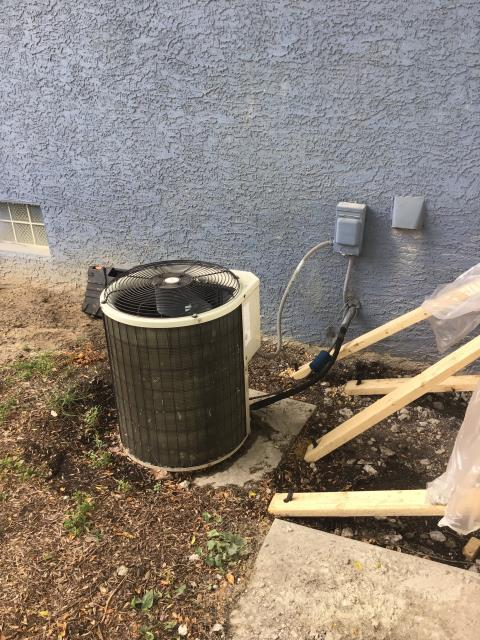 Columbus, OH - Customer stated that unit is not cooling properly. Pulled sheet metal from evap coil, found completely iced. Explained entire situation to customer, including the fact that with the potential water damage to the furnace, they may want to consider replacing the 19 year old system. AC runs on outdated R22. Could not provide any hard data, due to icing. Customer wants full estimate