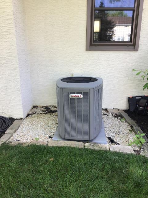 Westerville, OH - Unit not cooling properly, Evaporator coil has leak
