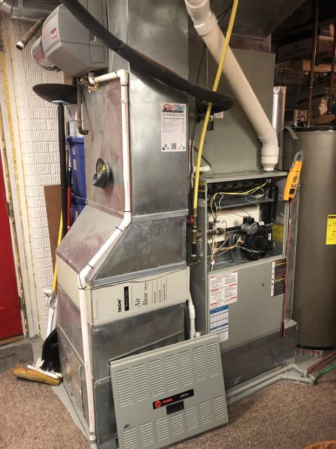 """Hilliard, OH - I installed a new  Carrier """"Infinity Series"""" 96% Variable Speed Two-Stage with a Propane Conversion Kit and a Carrier """"Infinity Series"""" 18 SEER Variable-Speed 4 Ton Heat Pump"""