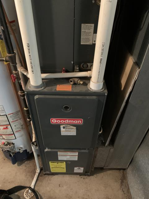 Hilliard, OH - I Replaced the OEM door switch on the 2005 Goodman furnace