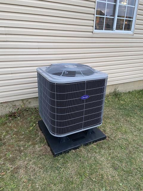 Columbus, OH - I installed a new  Five Star Multi-Speed 2.5 Ton Electric Furnace and a Five Star 14 SEER 2.5 Ton Heat Pump