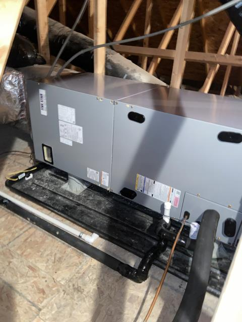 Powell, OH - Installed Five Star Electric Furnace QC (Up to 100,000 BTU) and Ecobee 5 Thermostat
