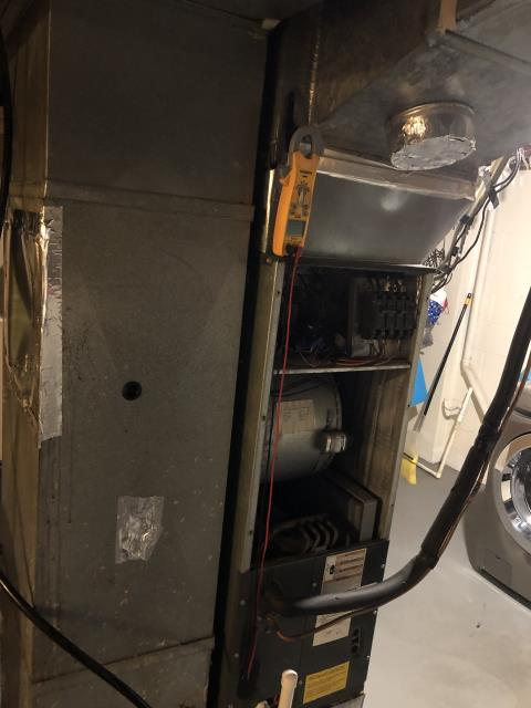 Groveport, OH - Upon arrival found 2006 Goodman electric system not operational. Found both sequencers bad on the heat kit, they will need replaced. Customer wants to move forward with repairs.
