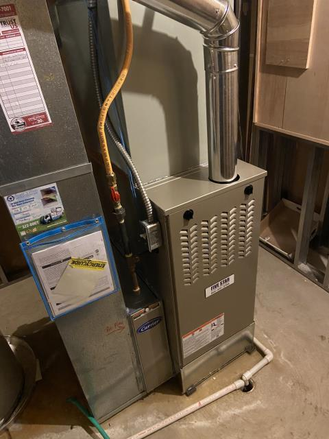 New Albany, OH - I installed a Five Star 80% 90,000 BTU Gas Furnace 3.5T