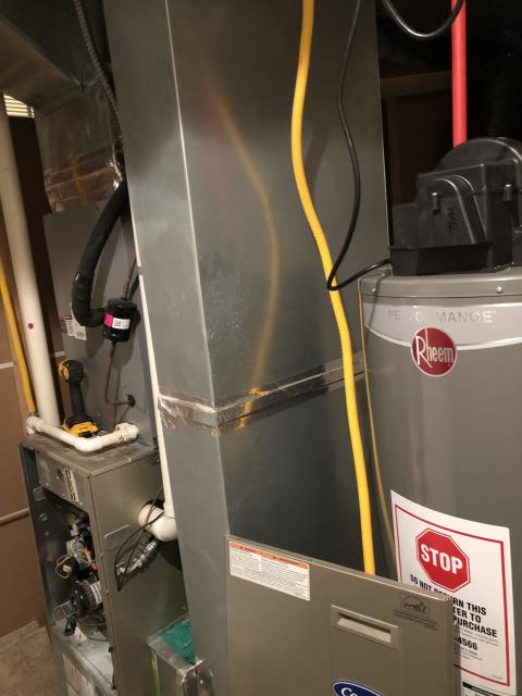 Johnstown, OH - I found that the secondary heat exchanger is not draining properly. I quoted customer to replace 96% heat exchanger. My recommendation is to replace Carrier gas unit due to the amount of the repairs of the heat exchanger.