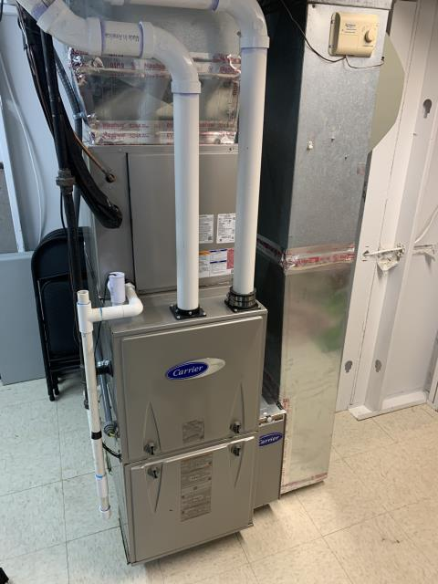 Westerville, OH - I installed an iWave-R Air Purifier. I demonstrated to customer how to properly use equipment.