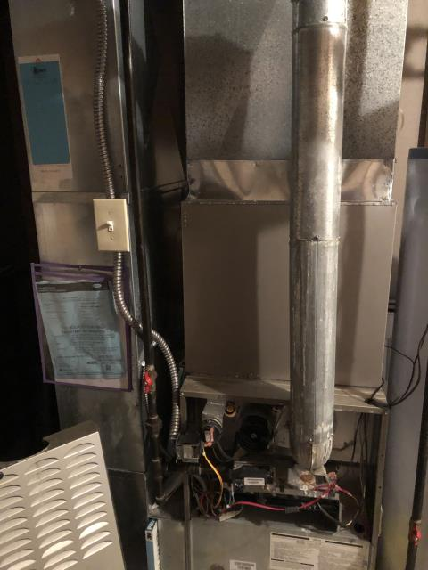Powell, OH - Furnace was giving a failed ignition lock out code. Cleaned the flame sensor; and reset code. Removed HSI and found a break. Replaced HSI and cycled unit on. Unit ignited and began the heating cycle. Observed operation for 30 min. Unit is operational at this time.