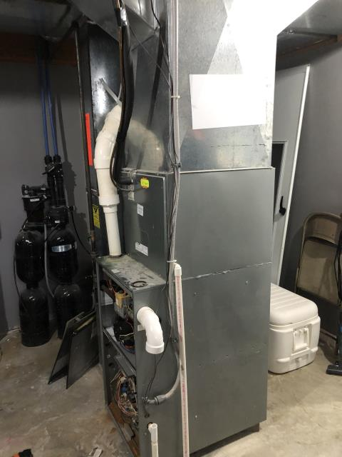 Canal Winchester, OH - I found that the control board is bad and will need replaced. Due to the age of the Rheem furnace and the condition of the internal components from lack of maintenance I would recommend replacing the system.