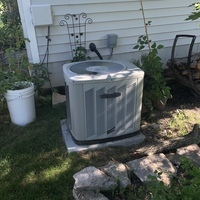 Columbus, OH - Installed a Carrier 96% Gas Furnace and Carrier 13 SEER Air Conditioner System