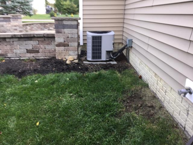 Blacklick, OH - During a tune up on a Carrier air conditioner, I found that the blower capacitor is reading low, customer has chosen not to replace at this time. The capacitor is also reading a little low and all other readings are within manufactures specifications at this time.
