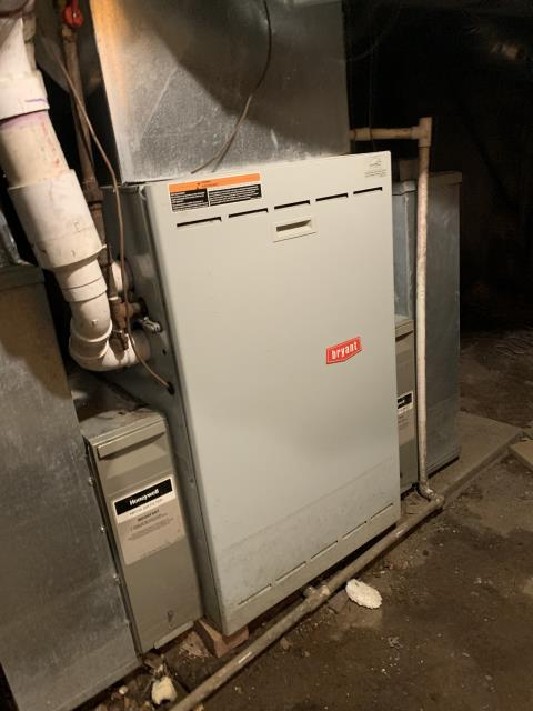 Carroll, OH - I found the Bryant furnace coming on but the ignitor is failing. I replaced the Carrier ignitor and cycled furnace back on. System comes on properly with no other issues.