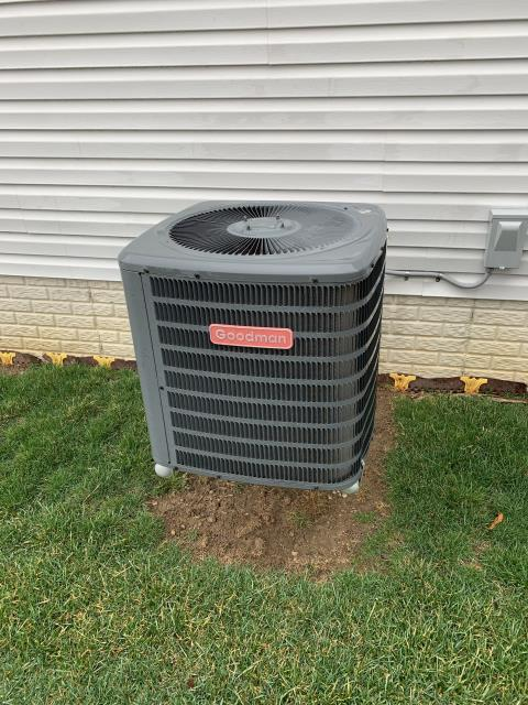 Lancaster, OH - I completed a tune up on a Goodman gas furnace and a Goodman Air Conditioner. All equipment was functional at the time of departure.
