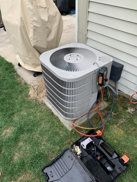 Reynoldsburg, OH - I completed a tune up and safety check on a Goodman Gas Furnace and a Goodman A/C. All equipment functional upon departure.