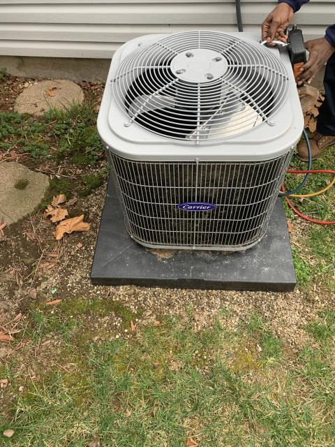 Reynoldsburg, OH - I completed a tune up and safety check on a Carrier 13 SEER 2 Ton Air Conditioner. All equipment was fully functional at the time of departure.