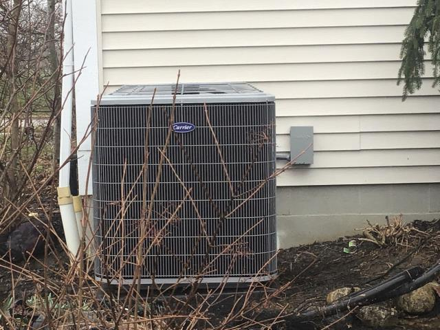 Lewis Center, OH - I performed a tune up and safety check on a Carrier up to 16 SEER 3.5 Ton Air Conditioner.  I found no issues and system was fully operational upon my departure.