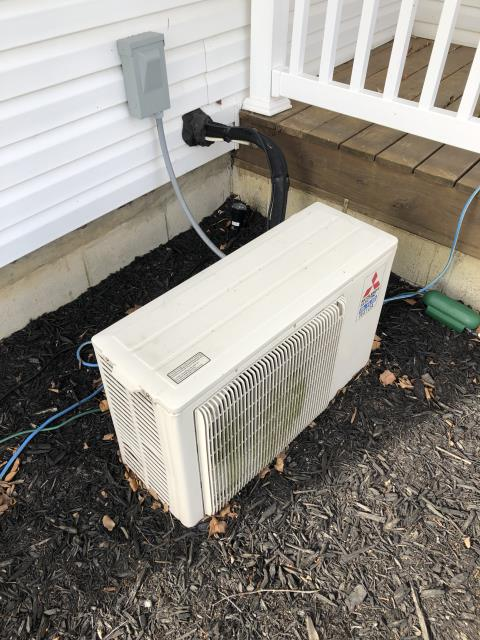 Lancaster, OH - I completed Scheduled Maintenance Agreement Tune-Up and Safety Check on  York Air Conditioner.   I visually inspected the furnace.  Checked voltage and amps. I inspected the evaporator coil.  I checked the temperature difference across the coil.   Checked refrigerant charge, voltages and amps.  I rinsed the condenser coils with water.  Cycled and monitored the system.  Operating normally at time of departure. System 2 of 2 for this location.