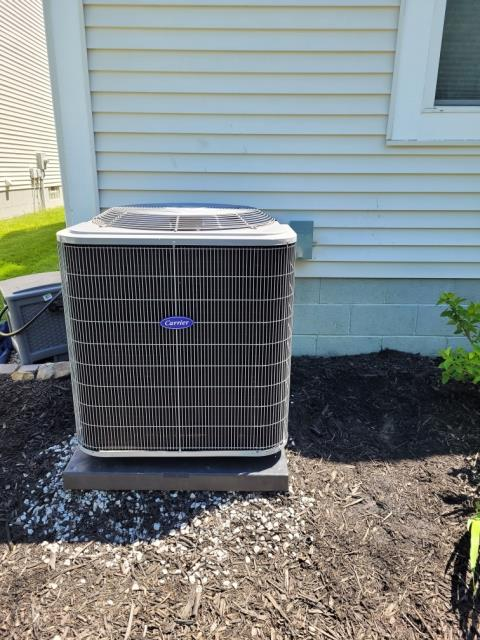 New Albany, OH - I performed Installation Inspection on Carrier 16 SEER 3.5 TON Air Conditioner. System Is Operating as intended.