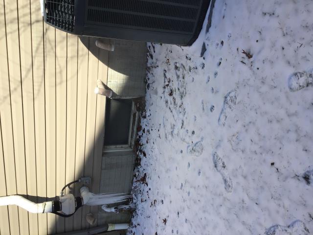 Pataskala, OH - Pataskala heater repair, intake pipe freezing
