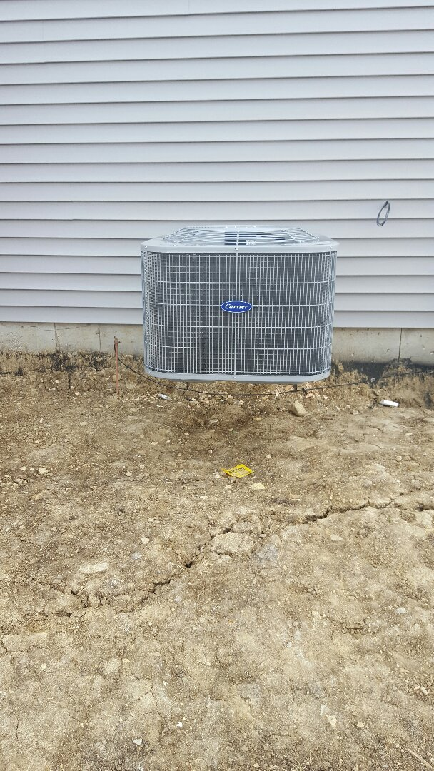 Plainfield, IL - New air conditioning installation