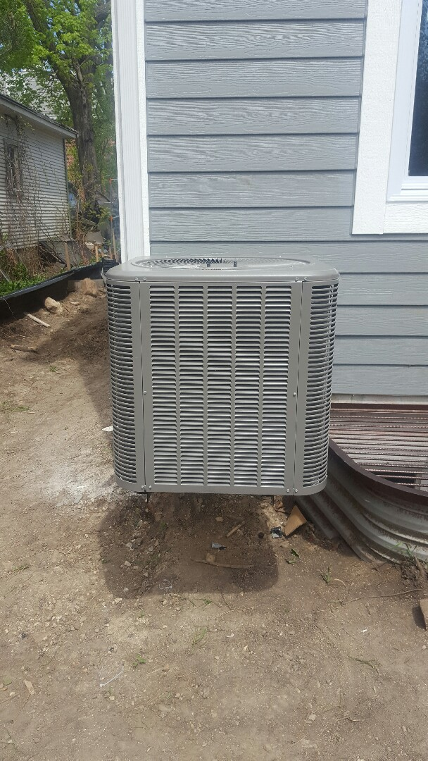 Barrington, IL - Lennox air conditioning installation