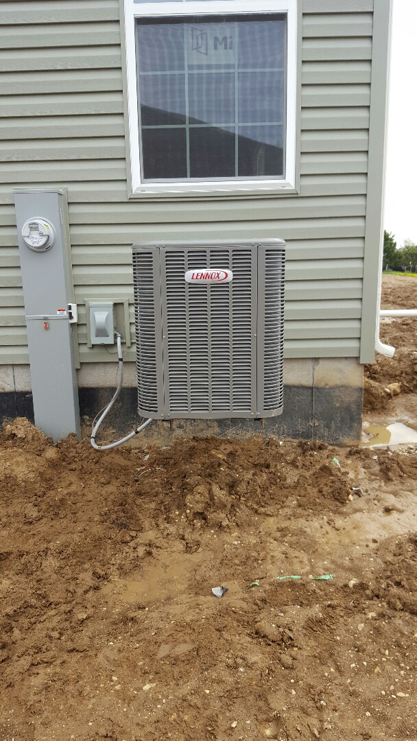 Aurora, IL - New lennox air conditioning installation