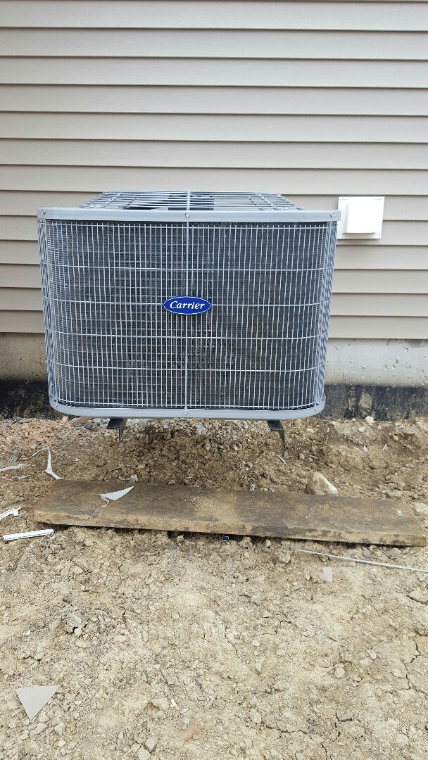 Joliet, IL - New carrier air conditioning installation