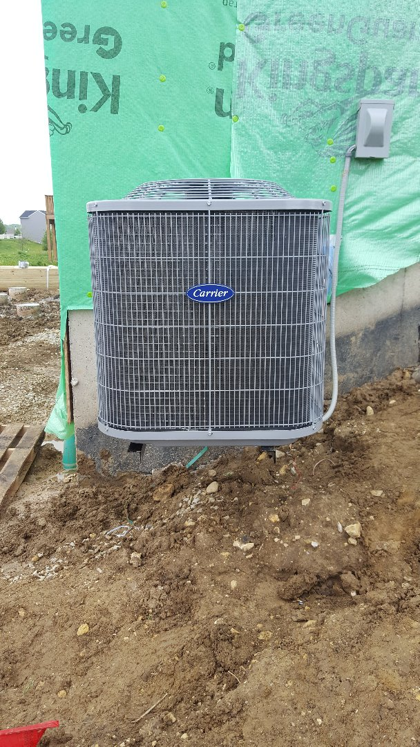 Yorkville, IL - New carrier air conditioning installation